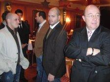 Spielergarde mit Nachwuchsleiter Franz Traschler
