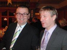 Obmann Neubauer mit Willi Blazey