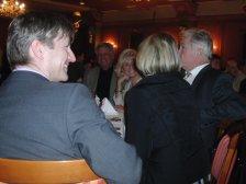Obmann Neubauer dankte auch den Spielergatten und Spielerfrauen