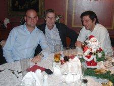 Markus Haubner, Andreas Flekal und Thomas Pokernus