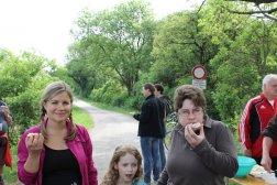 Patricia, Sarah oder Julia und Birgit