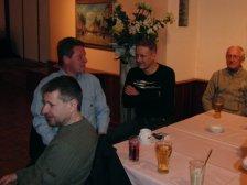 Friedrich Blazey, Gerhard Cech, Andi Emerschitz und Fritz Hauer