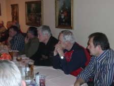 V.r.: Helmut Hnelozub, Albert Ehn, Josef Bayer, Josef Tertinek und Johann Madl