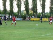 Hannes Budin erzielt das 10:0