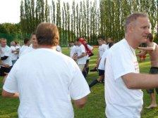 Meistertrainer Andi Emerschitz wirkt recht mitgenommen