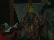 Hansi Madl, als Zwerg irgendwie unpassend