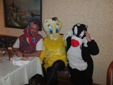 Martin, Tweety und Sylvester