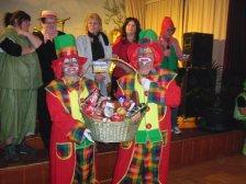 Platz 2: Familie Tato Posel als Clowns