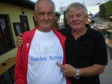 Albert Ehn mit Dietmar Schmidt