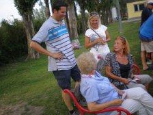 Lukas Mandl und Gabi Maw im Gespräch mit Inge Tauscher und Helene Lebenbauer