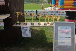Die Pokale für die größten Gruppen
