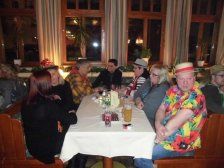 Die Familie um Ballprinz Christian Schuster