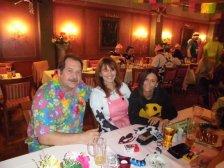 Helmut und Susi Hnelozub mit Melanie