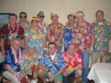 Das Ballkomitee des SC Maria Lanzendorf