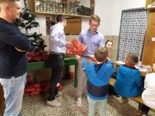 Weihnachtsfeier Nachwuchs