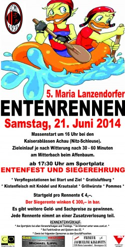 Plakat der Veranstaltung