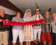 Foto mit Vereinsschal in Sulina